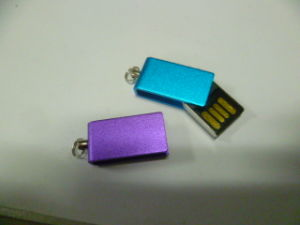 Metal Swivel OTG USB Drive (OM-P413) pictures & photos