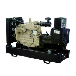 Open Type Cummins Diesel Genset, Cummins Generator (8KW ~ 200KW) pictures & photos
