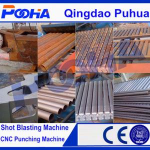 CE Q69 Roller Conveyor Shot Blasting Machine pictures & photos