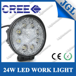 24W LED Driving Light for SUV/ATV/4X4 Offroad Lights