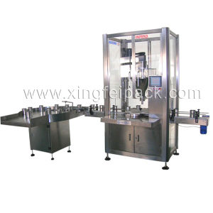 Auto Can Feeding, Powder Filling and Packing Machine pictures & photos