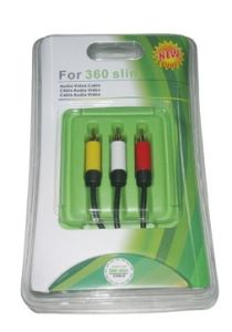 AV Cable for xBox360 Slim (HYS-SX005B)