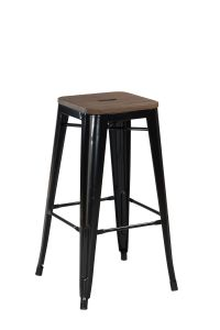 Iron Bar Stool with Modern Design