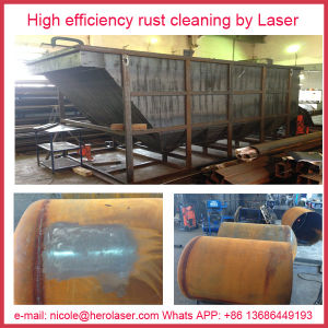 Laser Rust Removal Laser Oil Oidation Paint Contamination Ceramic Antique Cleaning Machine pictures & photos