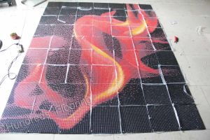 Glass Mosaic Pattern Wall Tile (HMP717) pictures & photos
