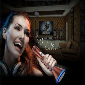 New Karaoke Microphone + Speaker Bluetooth 3.0, Wireless KTV Karaoke Effects pictures & photos
