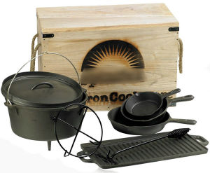 Pre-Seasoned Cookware Set (SFDP-001)