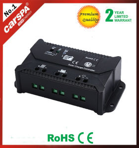 Competitive Price PWM 12V 24V Automatic 15A Solar Charge Controller pictures & photos