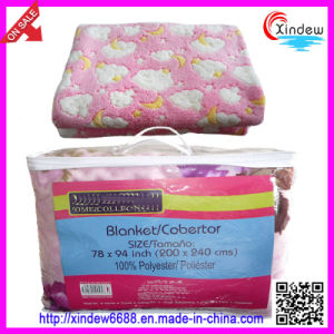 Printed Coral Fleece Blanket (xdb-014) pictures & photos