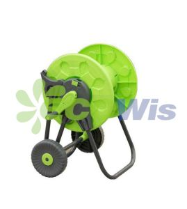 Plastic Foldable-Handle Garden Hose Reel Cart (HT1376B) pictures & photos