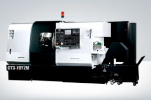 CT3-52y2m Turning & Milling Center (CNC Lathe) Twin Spindle & Three Turret