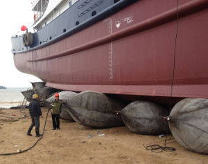 Shipyard Use Inflatable Marine Launching Airbags with High Pressure pictures & photos