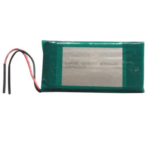 Polymer Li-ion Rechargeable Battery Pack 084693P 4000mAh 7.4V