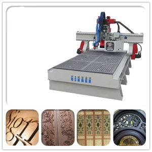 Vacuum Table, Hsd Spindle, Wood Door CNC Router Machine pictures & photos