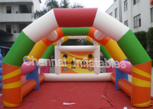 Hot Sale Sport Game Inflatable Football Gate pictures & photos