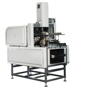 Visual Positioning Machine for Making Rigid Box Making Machine with Corner Tape pictures & photos