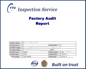 Reliable Factory Audit service in China