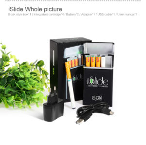 Islide Manufacturer China Electronic Cigarette with 1200mAh Push Button Smart PCC