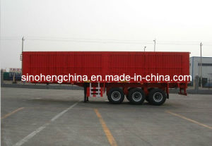 Good Quality Box Cargo Semi Trailer 3 Axles pictures & photos