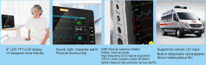 New - 8 Inch Patient Monitor for EMS Vehicle Use pictures & photos