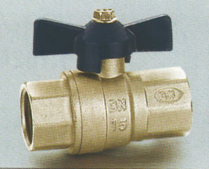 High Quality Brass Ball Valve Nickle Plated pictures & photos