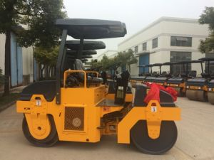 Junma Vibratory Compactor 3 Ton Mini Road Roller (YZC3A) pictures & photos
