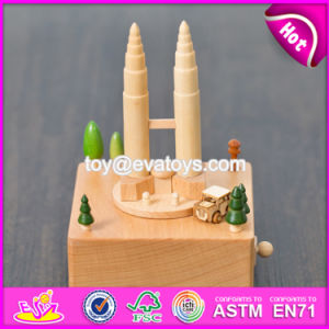 Handmade Best Toys Wooden Music Boxes for Toddlers W07b048 pictures & photos
