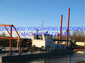 Suction Dredger with Dredging Depth 15m