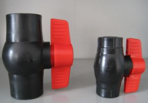 PE Ball Valves Socket Type pictures & photos