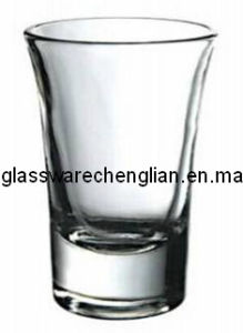 Clear Press Machine-Made Shot Glass (B-P4470A) pictures & photos