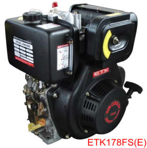Small Diesel Engine, Single Cylinder/Direct Injection (ETK178FS E) pictures & photos