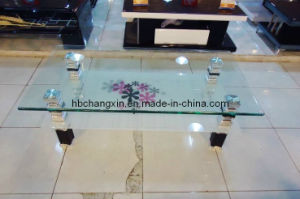 New Design Modern Hot Selling Glass Coffee Table pictures & photos