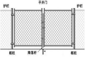 Drawing Chainlink Wire Mesh (OEM)