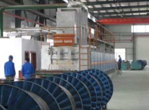 Al-Cladding Steel Wire Non-Oxidation Line