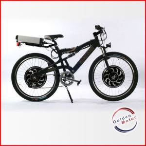Dual Drive Electric Mountain Bike/Fastest Electric Bicycle (SEB-350D) pictures & photos