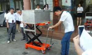 350kg Scissor Lift Platform with CE Certification pictures & photos