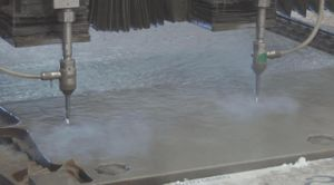 2-head Water Jet Machine pictures & photos