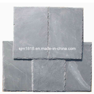 Black Slate Roofing in Retangle Shape (CSWB-002)