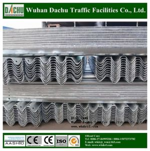 Corrugated Steel Beam Highway Guardrail pictures & photos