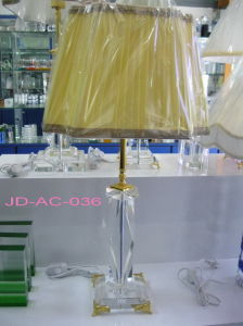 3 Feet Plug Crystal Glass Table Lamp (JD-AC-036) pictures & photos
