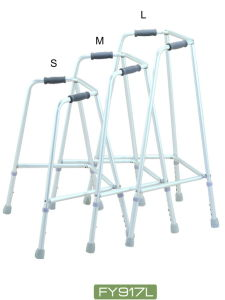 Non Shining Silver Color Aluminum Fixed Walker (FY917L) pictures & photos