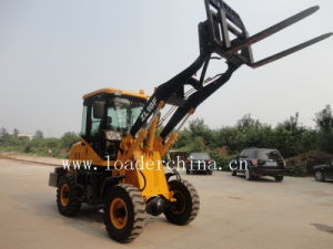 1.0t Wheel Loader ZL10F with Pallet Fork