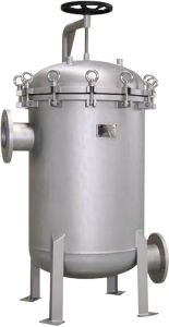 Stainless Steel Liquid Filter Housing with Muti 4 - 20 Bag pictures & photos