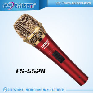 Ealsem Hote Sale High Quality Sound Metal Condenser Microphone for Computer, Studio and Recording pictures & photos