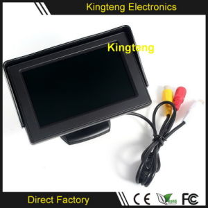 High Quality 4.3 Inch Sunvisor LCD Digital TFT Rearview Car Monitor 12V