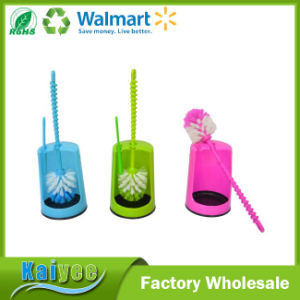 Household Cleaning Tool Plastic Toilet Brush Holder and Toilet Brush pictures & photos