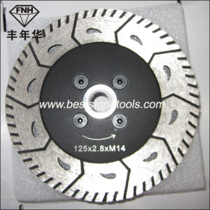 CB-17 Double Saw Blade with Flange Gct Flange Saw Blade (115-230mm)