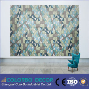 New Soundproof Material Wood Wool Decorative Acoustic Panel pictures & photos