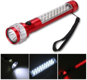 Aluminum Alloy Multi-Function Car Safety Flashlight Magnetic Trouble Flashlight pictures & photos