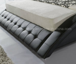 A019 Head Board with Crystal Kingsize Bed pictures & photos
